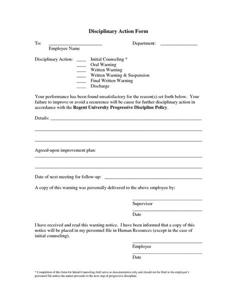employee write up form employee write up form 21 template for