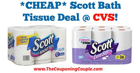 scott bathroom tissue coupon cheap scott bath tissue deal cvs