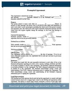 Marriage Contract Ontario Template by Prenuptial Agreement Create A Free Prenup Legaltemplates