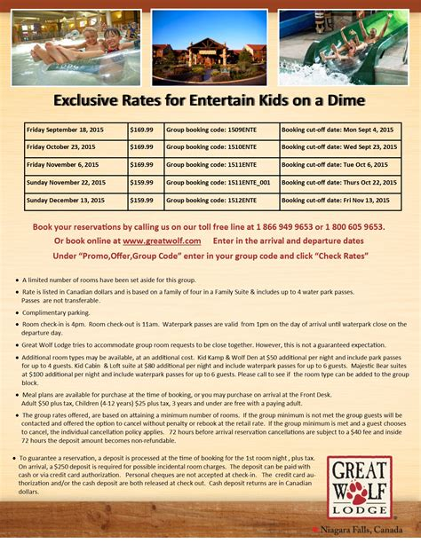 Great Wolf Lodge Gift Card Deals - great wolf lodge deals entertain kids on a dime blog