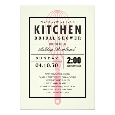 cooking themed bridal shower invitation wording kitchen themed bridal shower invitations jpg