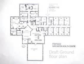 Medical Center Floor Plan Health Center Floor Plan