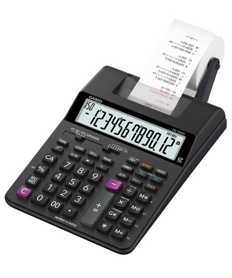 Kalkulator Casio Portable Printer Hr 8 Rc Reprint And Check casio hr 100rc printing calculator from casioindiashop