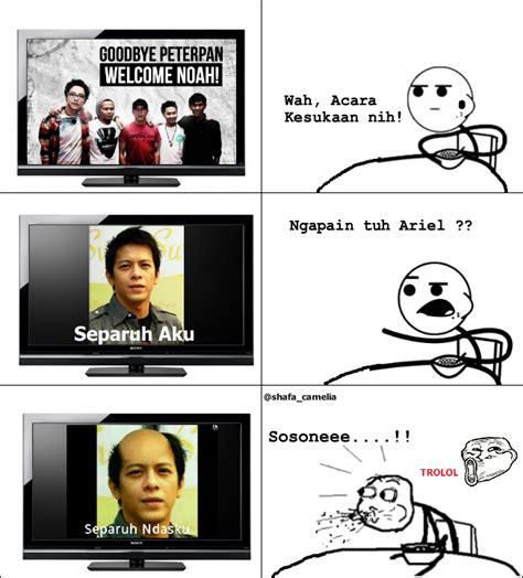 Mentahan Meme - komik meme curan indonesia meme ariel separuh aku