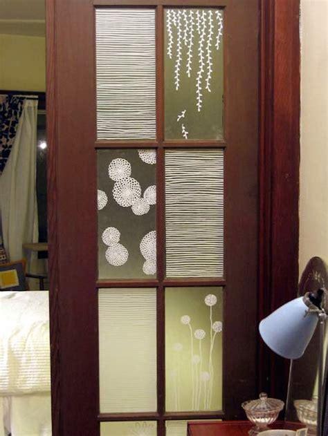 privacy for doors 15 brilliant door window treatments