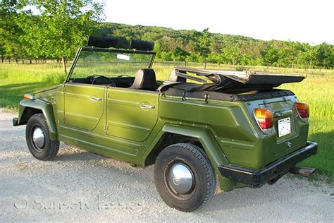 boat parts close to me rare avocado green 1974 vw thing for sale
