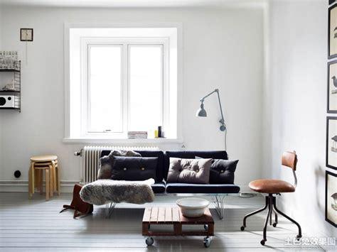 9 Tips For Styling White Rooms 最新北欧风格小户型公寓客厅装修效果图图片 土巴兔装修效果图