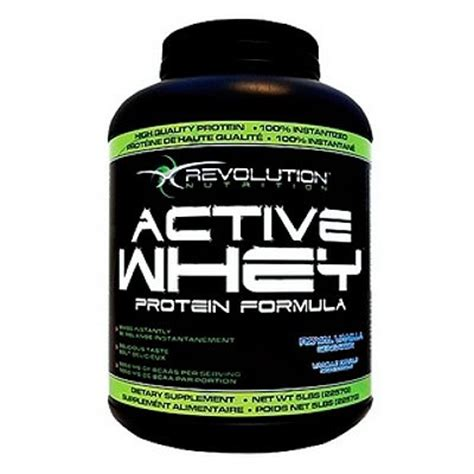 protein 8 revolution revolution nutrition active whey 5lb whey protein