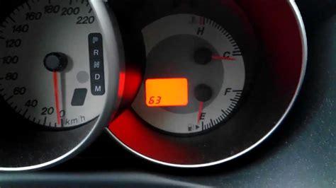mazda 6 check engine light mazda 3 self diagnostics through gauge panel youtube