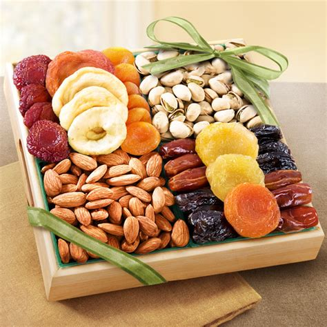 fruit and nut baskets dried fruit and nut wholesome snacking gift gift baskets