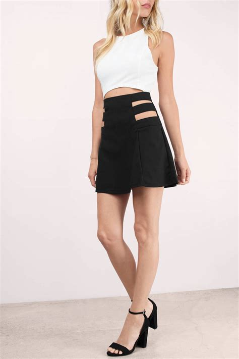 Aline Skirt a line skirt black fashion skirts