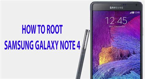 how to root the samsung galaxy note 4 international how to root samsung galaxy note 4 using cf auto root