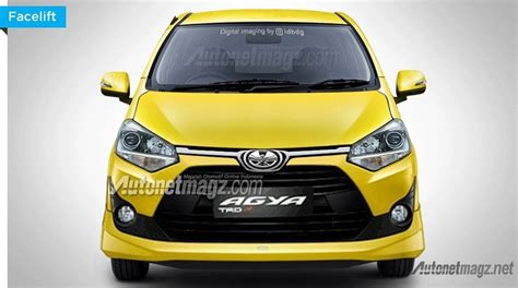 Lu Led Mobil Terbaru 2017 toyota agya rendered based on leaked brochure