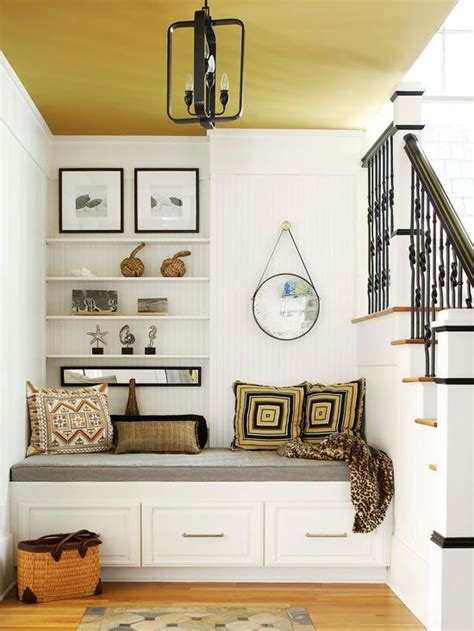 built in entryway bench fresh ideas for foyers and entries painted ceilings