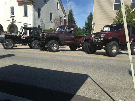 77 Jeep Truck Jeep 47 Cj 2a 62 Jeep Truck And A 77 Cj 7 Jeepfan
