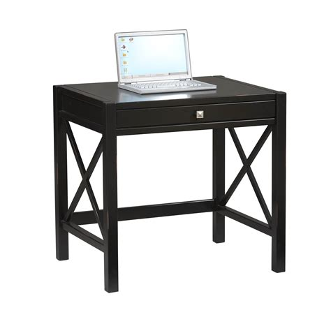laptop desk for linon antique black laptop desk 86111c124 01 kd u