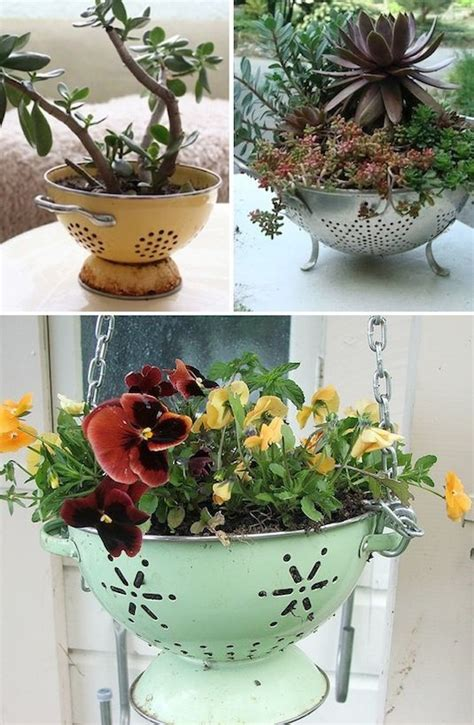 Creative Planter Ideas by 24 Creative Garden Container Ideas With Pictures