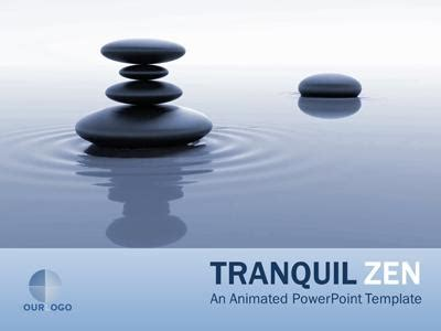 Tranquil Zen A Powerpoint Template From Presentermedia Com Zen Presentation Templates