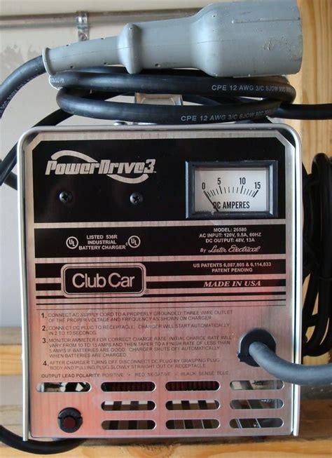 48 volt club car chargers