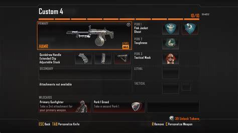 black ops 2 weapon guide hamr light machine gun best class setup and best strategies
