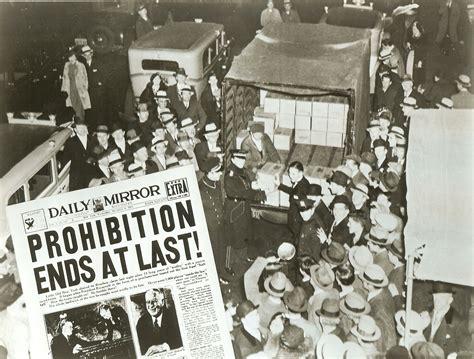prohibition ends prohibitionrepeal com celebrating the 75th anniversary