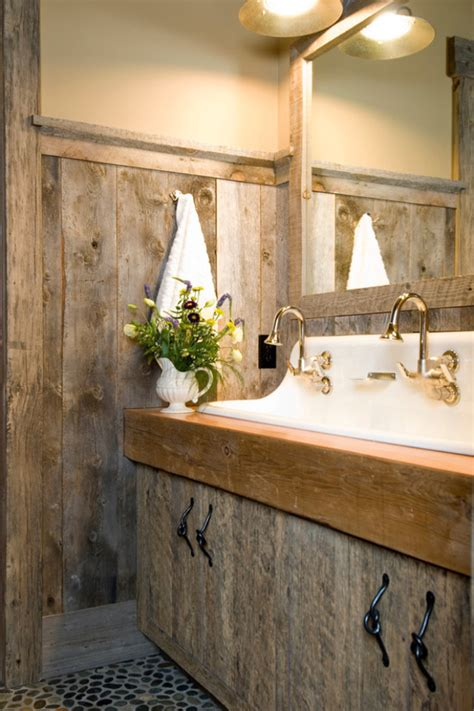 rustic bathrooms images 51 insanely beautiful rustic barn bathrooms