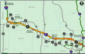 Illinois Toll Road Map by I 90 Illinois Map Related Keywords Amp Suggestions I 90