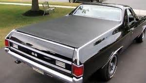 Tonneau Cover 1965 El Camino 1968 72 Chevy El Camino Hatch Style Tonneau Cover By