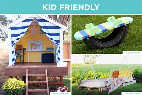 diy kid friendly backyards 30 diy backyard ideas to create a space you love shutterfly