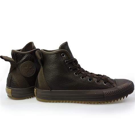 Converse Pro Hi Boots 1 converse ct hollis hi brown leather mens womens boots