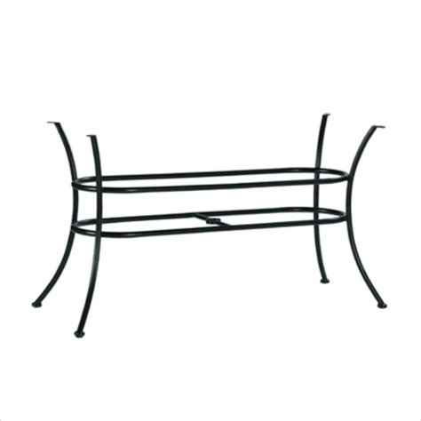 Oval Wrought Iron Patio Table Verano Oval Wrought Iron Patio Table Base