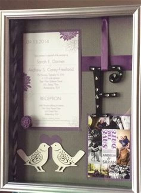 Wedding Invitation Keepsake Shadow Box by 1000 Ideas About Wedding Invitation Keepsake On