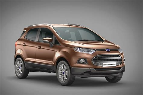 price of ford ecosport diesel in india 2016 ford ecosport launched gets more powerful diesel engine