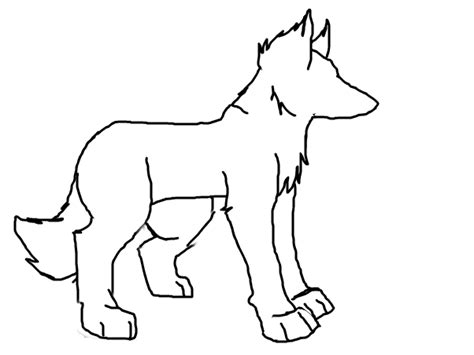 Outlines Of Wolves by Wolf Outline Wolf Slimber Drawing And Painting
