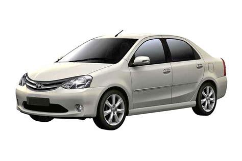 Toyota Car Rentals Toyota Etios Economy Car Rental India By Car And Driver