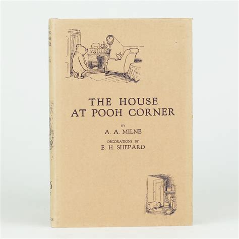 house at pooh corner the house at pooh corner by milne a a jonkers rare books