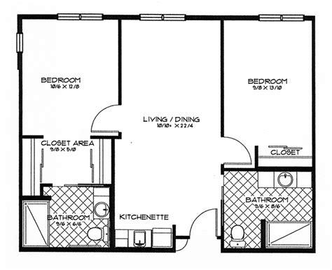 Parkview Apartments Floor Plan Assisted Living Paradise Village Retirement Community