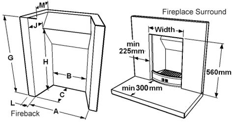 Open Fireplace Dimensions by Solid Fuel Technology Institute Bs1251 Fireplaces