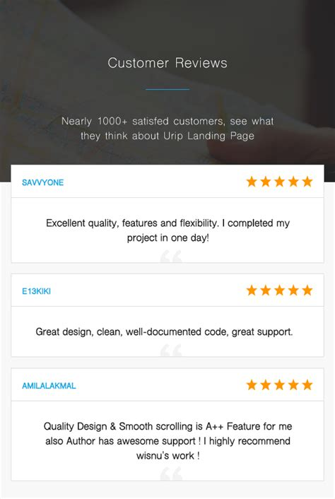 Single Urip urip professional landing page with html builder by