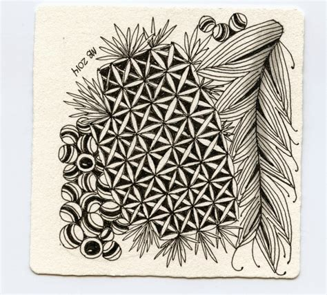 zentangle pattern drawing as meditation inkidoodles com melinda barlow czt zentangle and