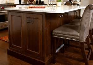 Kitchen Island Countertop Overhang by Island Cabinets Kabco Kitchens