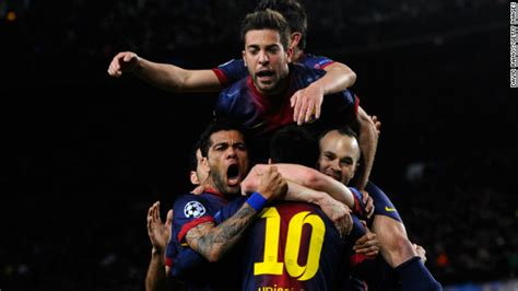 Kaos Barca Barcelona Edition 03 barcelona breezes past milan in chions league cnn