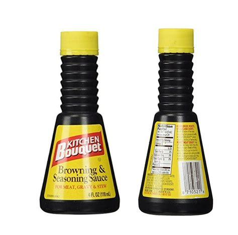 kitchen bouquet browning sauce kitchen bouquet browning and seasoning sauce gluten free 4oz bottle ebay
