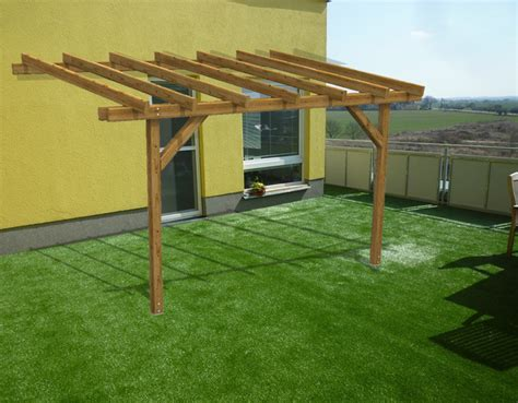 kit gazebo in legno pergola in kit gazebo doubleeasy eco addossata