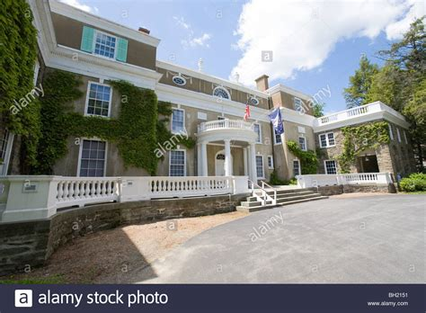 franklin delano roosevelt s home stock photo royalty free