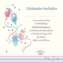 occasion card 70 2i 70th birthday wedding invitations