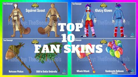 fortnite who made it fortnite top 10 fan made skins in fortnite battle royale
