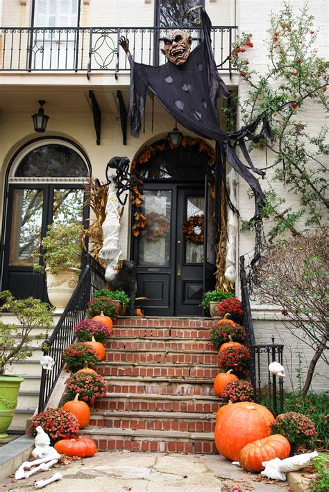 homemade outdoor halloween decorations decoration love