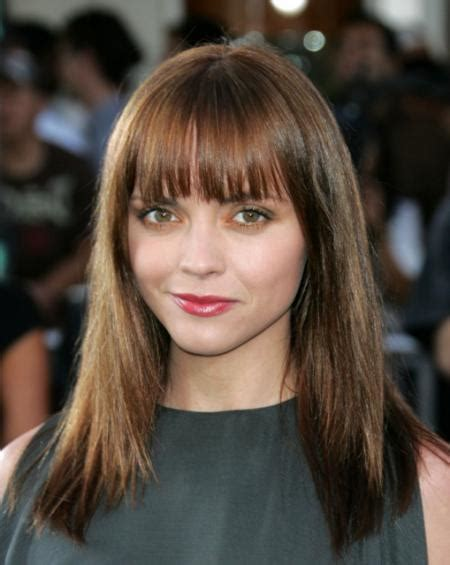 should full faced women wear bob hairstyles straight bangs hairstyle for round face women hairstyles