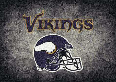 Minnesota Vikings Rugs by Milliken Area Rugs Nfl Distressed Rugs 04055 Minnesota
